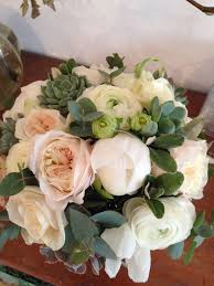 wedding flowers surrey bridal bouquet blush pink white and mint green