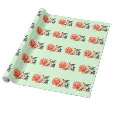 linen wrapping paper zazzle