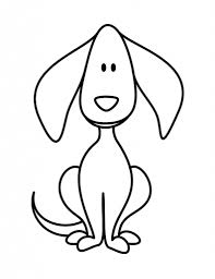 simple drawing of dog how to draw dogs for kids step step animals