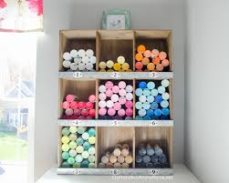 How To Organize Craft Room - craftaholics anonymous craft room tour