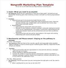 Free Non Profit Business Plan Template by Sle Marketing Timeline Template 23 Marketing Plan Presentation