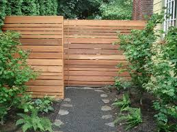 Different Types Of Fencing For Gardens - 29 best modern horizontal fence design images on pinterest fence