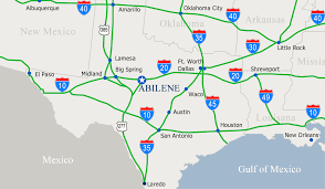 Dallas Tx Map Abilene Tx Map My Blog