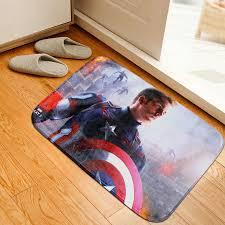 Captain America Bedroom by Aliexpress Com Buy Mats Anti Slip Floor Mat Avengers Captain