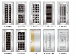 Residential Security Doors Exterior Steel Door Designs Design Ideas