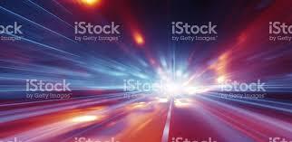 Speedof Light Faster Than The Speed Of Light Stock Photo 545558628 Istock