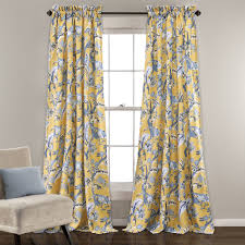 dolores room darkening window curtain set lush decor www