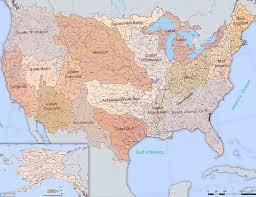 map usa rivers map of major us rivers and mountains united states