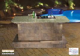 design ideas for brick u0026 paving stone outdoor kitchens landscape
