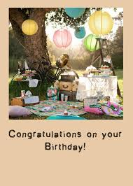 free birthday card for facebook