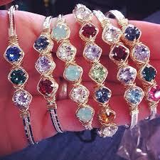 bracelets with birthstones between in pontotoc ms earth grace bracelet