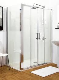 shower enclosures uk 1700mm double sliding shower door amazon