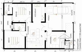 6 marla house plan design gharplans pk