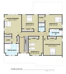 sweetwater 1442 5 bedrooms and 3 baths the house designers