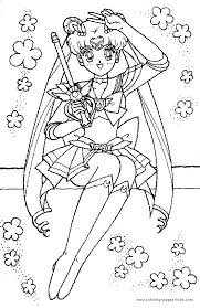 104 sailor moon coloring pages images coloring