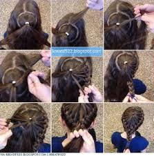 tutorial kepang rambut frozen model kepang rambut melingkar kepang pinterest fashion beauty