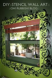 Bedroom Wall Paint Stencils 164 Best Diy Stencil Images On Pinterest Stencils Stenciling