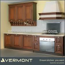 finished oak kitchen cabinets guangzhou finished oak solid wood kitchen cabinets buy wood