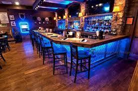 led lighted bar shelves bar shelving for home commercial bars led lighted liquor shelves