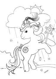 pictures colour ponies
