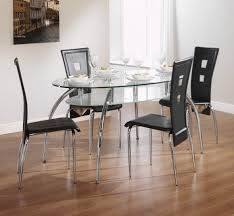 modern glass top dining table light brown modern glass top dining table woptional chairs with