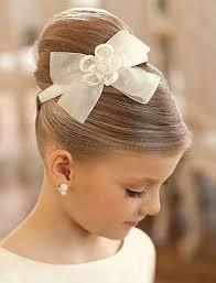 flowergirl hair flowergirl hairstyles flower girl hairstyle top bun