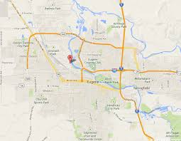 map of oregon eugene contact integrity auto repair or river road in eugene oregon