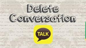 delete conversation chat on kakaotalk video youtube