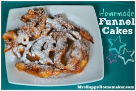 homemade funnel cakes keeprecipes your universal recipe box