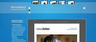 20 feature rich premium newsletter templates idevie