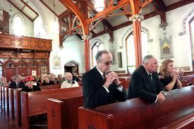 St Mark S Church Berkshire Pittsfield Says Goodbye To Former Mayor Anne Wojtkowski At Funeral