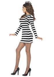 Prisoner Halloween Costume Women Women U0027s Convict Costume