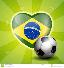 Brazil Flag Image Soccer Ball With Brazil Flag Stock Illustration Image 41534814