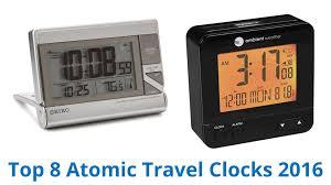 8 best atomic travel clocks 2016 youtube