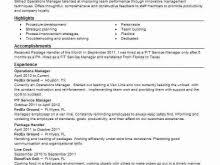 it operation manager resume operations manager resume beautician