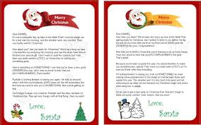 santa claus letters free printable letters from santa claus templates