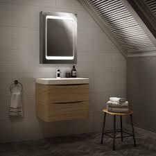 Bathroom Shaver Lights Uk by Led Illuminated Mirror Cabinet Bathroom Shaver Socket U0026amp Motion
