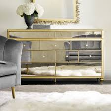 bewitch nine drawer mirrored dresser safavieh