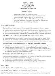 Simple Job Resume Template Sample Business Analyst Resume Templates Samples Resume For Study