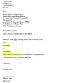 business name change letter 25 appendix j sample letter healthy