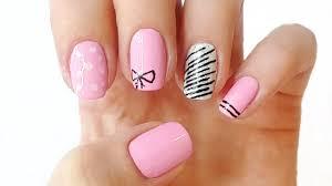pink summer nail designs summer nails youtube