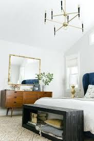 banc pour chambre à coucher banc pour chambre a coucher bout de lit coffre en bois gris dans