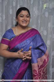 Hot Images Of Kushboo - kushboo in saree at paartha gnyabagam illayo serial press meet