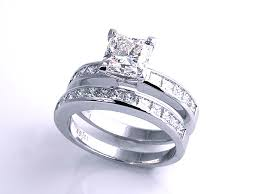 square engagement rings with band moses jewelers square engagement rings 206231 jewelry
