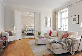 Small Cream Rug Living Room Small Living Room Idea With Wooden Floor Idea And