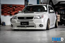 subaru forester lowered your eyes aren t deceiving you the bagged subaru forester