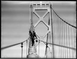 what it was like to be a bay bridge painter in the 1940s san