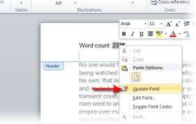 Count Word In Document 2595 How Can I Automatically Insert The Word Count Into My Word