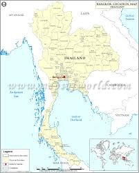 Where Is Wales On The Map Where Is Bangkok Location Of Bangkok In Thailand Map