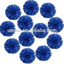 royal blue tissue paper royal blue tissue paper pom poms tissue paper flowers party